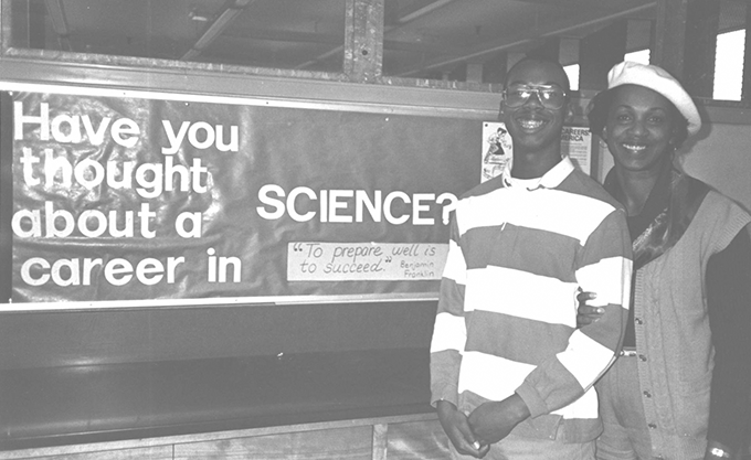 1982 career in science sign